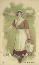 xrt800277 - The Milk Maid Signed Postcard, Postales, Postkaarten, Kartpostal, Cartes, Postale, Postkarte, Ansichtskarte