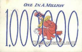 xrt800284 - one in a million Signed Postcard, Postales, Postkaarten, Kartpostal, Cartes, Postale, Postkarte, Ansichtskarte