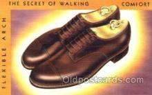 xsa001005 - Shoe Advertising Postcard Postcards