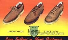 xsa001007 - Racine Show Shoe Advertising Postcard Postcards