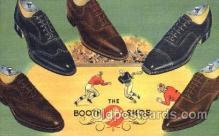 xsa001011 - The Booth Shoe Shoe Advertising Postcard Postcards