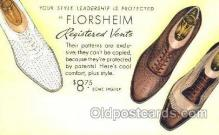 xsa001012 - Florsheim Shoe Advertising Postcard Postcards