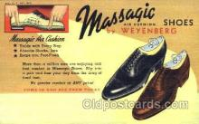xsa001016 - Massagic Shoe Advertising Postcard Postcards