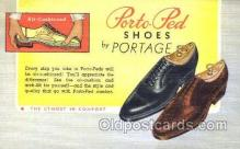 xsa001017 - Portage Shoe Advertising Postcard Postcards