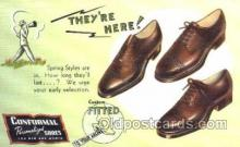 xsa001021 - Conformal Personalized Shoes Shoe Advertising Postcard Postcards
