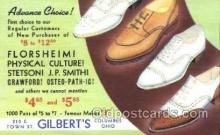 xsa001023 - Florsheim Shoe Advertising Postcard Postcards