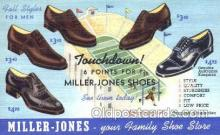 xsa001025 - Miller Jones  Shoe Advertising Postcard Postcards