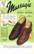 Massagic Shoe Advertising Postcard Post card