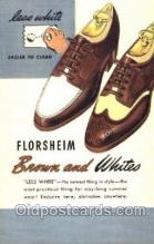xsa001031 - Florsheim Shoe Advertising Postcard Postcards