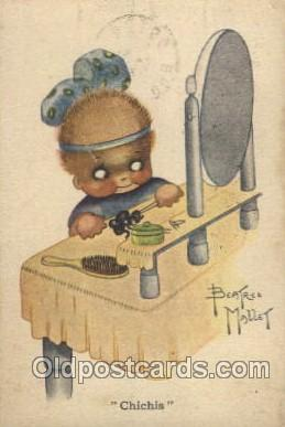 Artist Beatrice Mallet Postcard Post Card