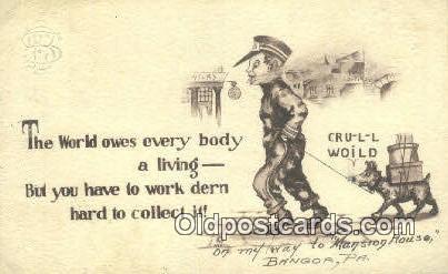 Artist Cobb Shinn, Postcard Post Card