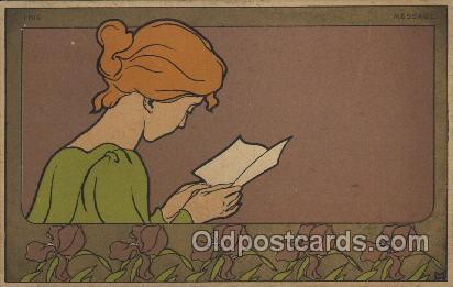 Artist Signed Postcards - Antique Signed Artist Post Cards