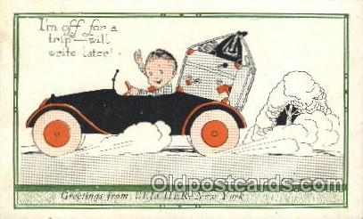 Artist Weaver, Postcard Post Card