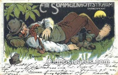 Gareis, F Postcard Post Card