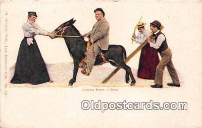 yan070045 - Giving Baby a Ride Postcard Post Card