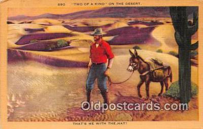 yan070060 - Two of a Kind Postcard Post Card