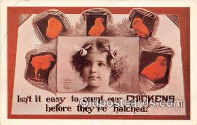 yan160009 - Chickens Postcard Post Card