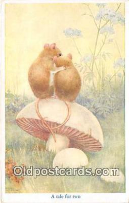 yan180003 - By Noel Hopking Tale For Two Postcard Post Card