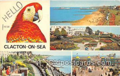 yan220013 - Clacton on Sea, Essex England Greensward Postcard Post Card