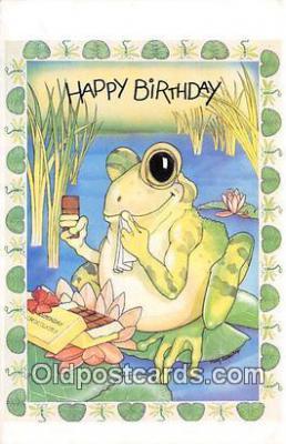 yan250001 - North Shore Animal League Happy Birthday Postcard Post Card