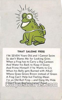 Salmoe Frog