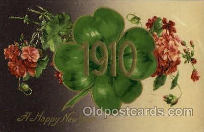 1910 Year Date Postcard Post Card