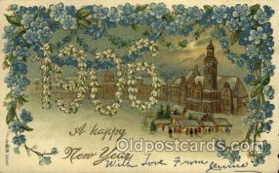1906 Year Date Postcard Post Card