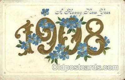 1908 Year Date Postcard Post Card