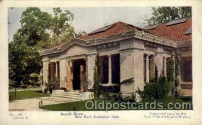 zoo001059 - Reptile House, New York Zoological Park New York, USA Postcard Post Cards Old Vintage Antique