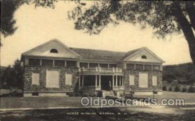 zoo001112 - Morse Museum Warren, NH, USA Postcard Post Cards Old Vintage Antique