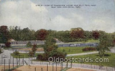 zoo001132 - Pheasants Aviary & Wild Fowl Pond, New York Zoological Park New York, USA Postcard Post Cards Old Vintage Antique