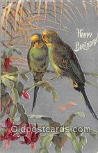 yan010032 - Happy Birthday Postcard Post Card