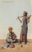 yan040003 - Ceylon Snake Charmer Postcard Post Card