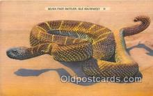yan040021 - Seven Foot Rattler Postcard Post Card