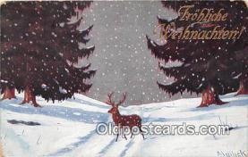 yan060037 - Frohliche Weihnachten Postcard Post Card