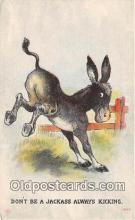 yan070027 - Jackass Postcard Post Card