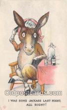 yan070028 - Jackass Postcard Post Card