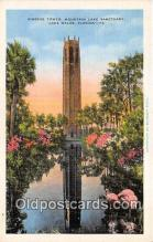 yan090026 - Lake Wales, FL, USA Singing Tower, Mountain Lake Sanctuary Postcard Post Card