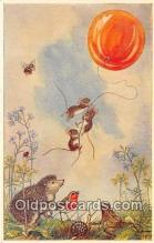 yan180001 - By Molly Brett Balloon Goes Up Postcard Post Card