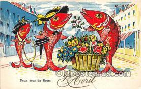 yan230053 - Deux Sous De Fleurs Postcard Post Card