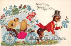 yan240032 - Easter Greetings Postcard Post Card