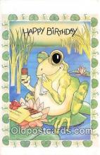 yan250001 - North Shore Animal League Happy Birthday Postcard Post Card